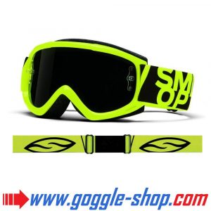 SMITH FUEL V1 MAX MIRROR MOTOCROSS MX GOGGLES ACID WITH BLACKOUT LENS