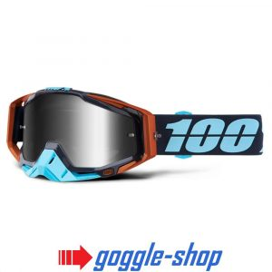 100% PERCENT RACECRAFT MX MOTOCROSS GOGGLES - ERGONO