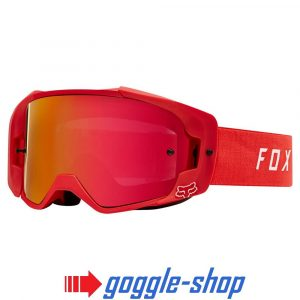 Fox Vue Morocross Goggles Red