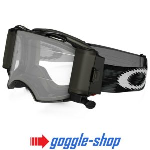OAKLEY AIRBRAKE ROLL-OFF MOTOCROSS MX ENDURO BIKE GOGGLES – JET BLACK