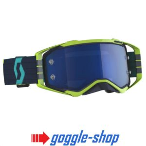 2020 Scott Prospect Goggles - Blue / Yellow / Electric Blue Chrome Works