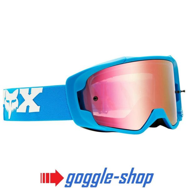 FOX VUE MOTOCROSS MX BIKE GOGGLES mtb - ZEBRA