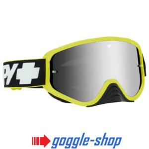 2019 SPY WOOT MOTOCROSS MX BIKE GOGGLES - SLICE GREEN / SILVER SPECTRE LENS