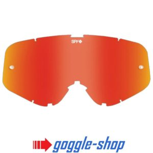 SPY WOOT MOTOCROSS MX GOGGLE GENUINE REPLACEMENT RED SPECTRA MIRROR LENS