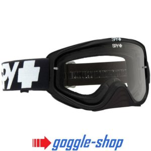 2019 SPY WOOT MOTOCROSS MX GOGGLES - BLACK / CLEAR