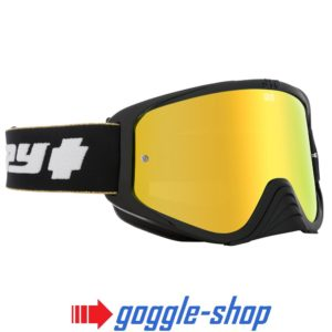 2019 SPY WOOT MOTOCROSS MX BIKE GOGGLES - 25 YEAR SPECIAL BLACK / GOLD LENS
