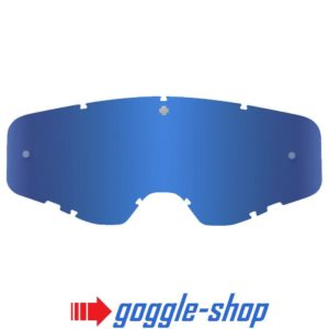 SPY FOUNDATION MOTOCROSS GOGGLE GENUINE REPLACEMENT DK BLUE SPECTRA MIRROR LENS