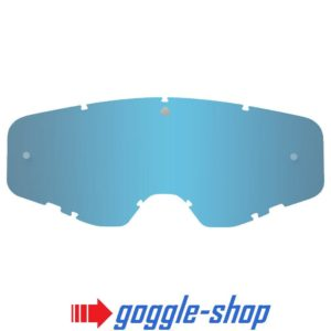 SPY FOUNDATION MOTOCROSS GOGGLE GENUINE REPLACEMENT LT BLUE SPECTRA MIRROR LENS