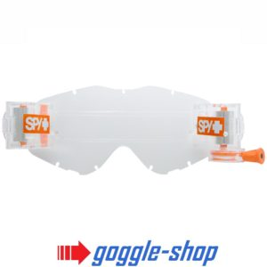 SPY WOOT MOTOCROSS MX BIKE CLEAR VISION SYSTEM GOGGLE ROLL OFF ENDURO DIRT BIKE