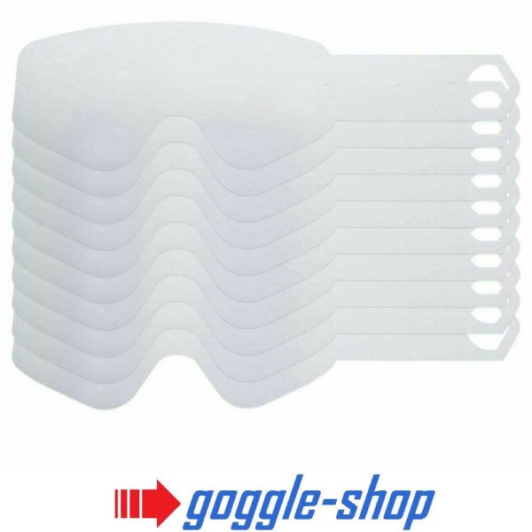 SPY TEAR OFFS for BREAKAWAY MOTOCROSS MX GOGGLES GENUINE - 10 PACK