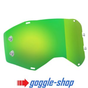 GENUINE SCOTT PROSPECT GREEN MIRROR TEAR OFF LENS MOTOCROSS GOGGLES MX