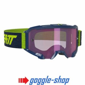 LEATT VELOCITY 4.5 MOTOCROSS MX GOGGLES - IRIZ INK / PURPLE LENS