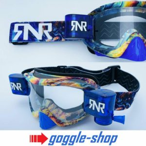 RIP N ROLL MOTOCROSS MX ENDURO BIKE GOGGLES HYBRID RnR fully loaded - SLICK