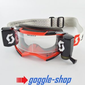 2020 SCOTT FURY WFS ROLL-OFF MOTOCROSS MX ENDURO GOGGLES - RED / BLACK / WHITE