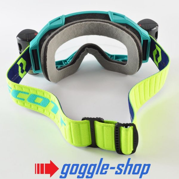 2020 SCOTT FURY WFS ROLL-OFF MOTOCROSS MX ENDURO GOGGLES - BLUE / YELLOW