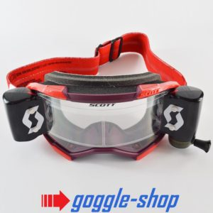 2020 SCOTT FURY WFS ROLL-OFF MOTOCROSS MX ENDURO GOGGLES - RED