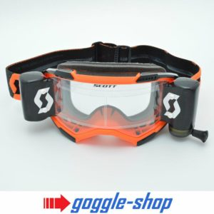 2020 SCOTT FURY WFS ROLL-OFF MOTOCROSS MX ENDURO GOGGLES - ORANGE / BLACK