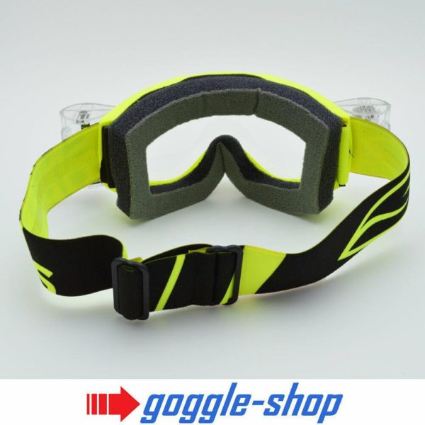 SMITH FUEL V1 MOTOCROSS GOGGLES with GOGGLE-SHOP ROLL-OFF SYSTEM - ACID YELLOW