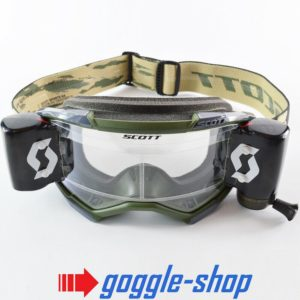 2020 SCOTT FURY WFS ROLL-OFF MOTOCROSS MX ENDURO GOGGLES - CAMO / BLACK