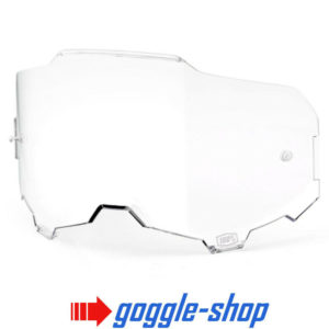 GENUINE 100% ARMEGA MOTOCROSS MTB GOGGLES HD LENS - CLEAR