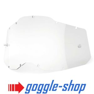 ACCURI STRATA RACECRAFT 2.0 GOGGLE-SHOP REPLACEMENT CLEAR LENS