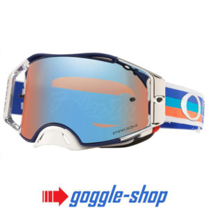 OAKLEY AIRBRAKE MOTOCROSS GOGGLES TROY LEE DESIGNS PRE-MIX NAVY ORANGE SAPPHIRE